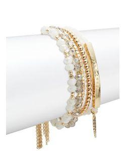 Noir   Journey Beaded Layered Bracelet