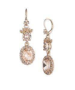 Marchesa | Austrain Crystal Drop Earrings