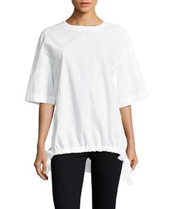 Dkny Pure | Cotton Solid Tie-Up Top