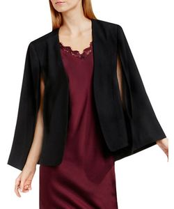 Vince Camuto | Kiss Front Slit Sleeved Cape