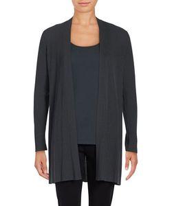 Eileen Fisher | Petite Textured Long Cardigan