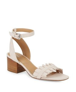 Michael Kors Collection | Monroe Suede Ankle-Strap Sandals