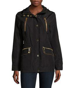 Michael Michael Kors | Long Sleeve Zipped Hooded Anorak Jacket