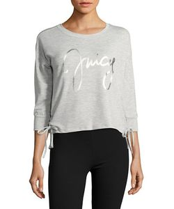 Juicy Couture | Lace-Up Logo Pajama Top