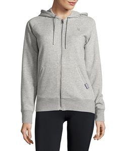 New Balance | Heathered Zip Up Hoodie