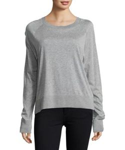 Dkny Pure | Ribbed Heathered Pullover