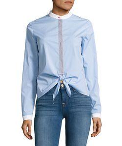 Bailey 44 | Homeostasis Striped Button-Front Shirt