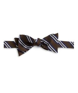 Brooks Brothers | Striped Silk Bow Tie