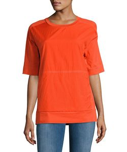 Dkny Pure | Elbow-Sleeve Crewneck T-Shirt
