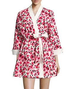 Kate Spade New York   Cotton-Blend Printed Robe