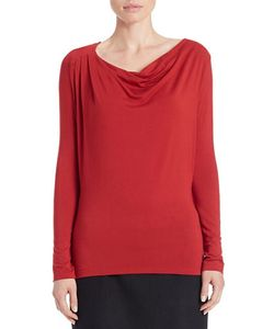 Lord & Taylor | Draped Neck Blouse
