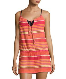 Polo Ralph Lauren | Playa Stripe Blouson Cover-Up Dress