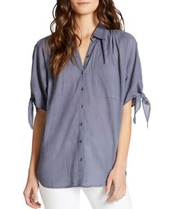 Jessica Simpson | Clapton Spread Collar Shirt