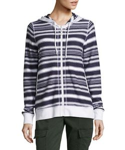 Tommy Bahama | Socrates Striped Cotton Hoodie