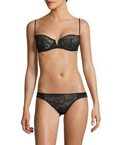La Perla | Sheer Lace Bikini Panties