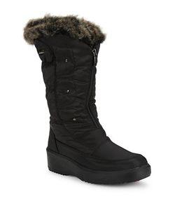Pajar | Louise Faux Fur-Trimmed Mid-Calf Boots