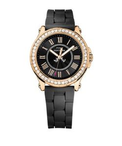 Juicy Couture | Pedigree Goldtone And Silicone Watch