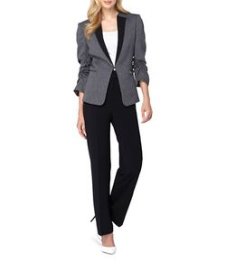 Tahari Arthur S. Levine | Jacket And Pants Set