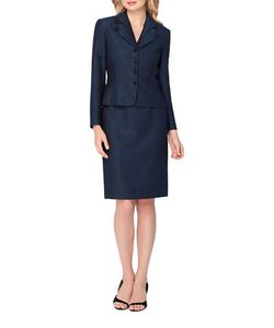 Tahari Arthur S. Levine | Two-Piece Traditional Skirt And Suit Set