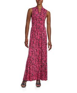 Michael Michael Kors | Tropical Print Maxi Dress