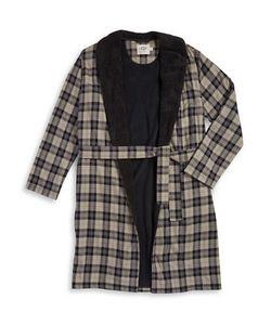 UGG | Fleece-Lined Plaid Robe