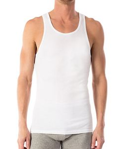Michael Kors | Ribbed Cotton Tank Tee