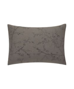 Vera Wang | Winter Blossoms Decorative Linen Pillow