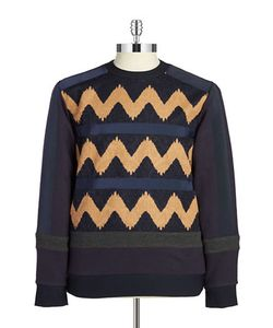 General Idea | Mixed Media Chevron Sweater