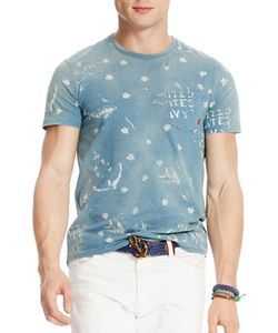 Polo Ralph Lauren   Anchor And Star Printed Jersey T-Shirt
