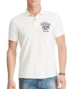 Polo Ralph Lauren   Custom Slim-Fit Cotton Polo