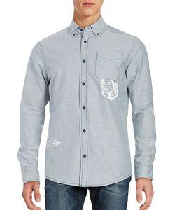 Billionaire Boys Club | Mantra Graphic Button Collar Shirt