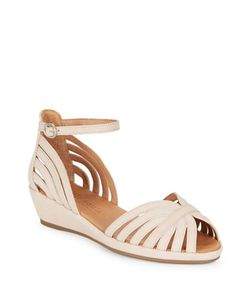 Gentle Souls | Leah Wedge Sandals