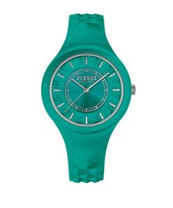 Versus | Fire Island Stainless Steel Silicone Strap Watch Soq070016