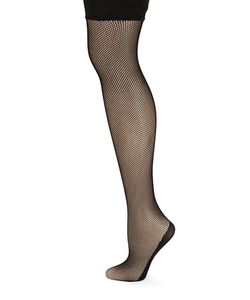 DKNY | Fishnet Thigh-High Stockings