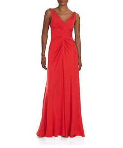 Vera Wang | Pleated Jersey Gown