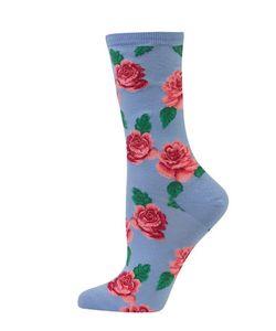 Hot Sox | Rose Crew Socks