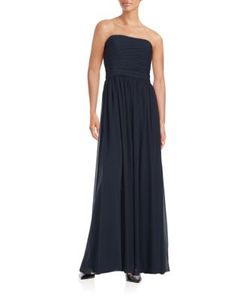 Vera Wang | Solid Long Gown