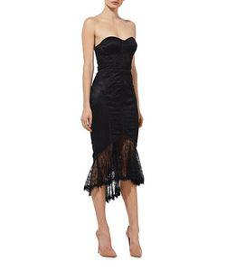 Misha Collection | Darlene Bustier Lace Dress
