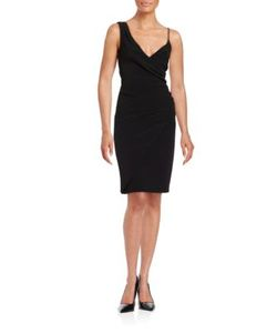 Nicole Miller   Asymmetrical Ruched Dress