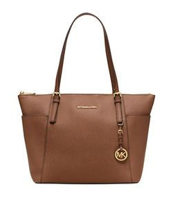 Michael Michael Kors | Logo Accent Leather Tote