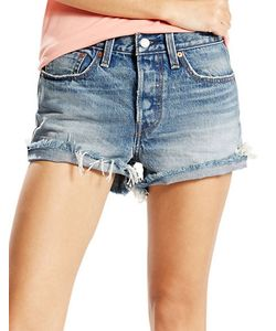 Levi's | Wedgie Distressed Cut-Off Denim Shorts