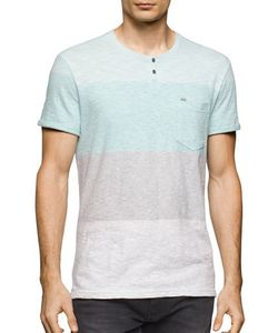 Calvin Klein Jeans | Colorblocked Henley Tee