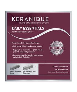 Keranique | Daily Essential Dietary Supplements For Healthy Looking Hair And Nails