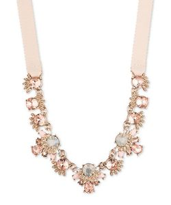 Marchesa | Goldtone Frontal Necklace