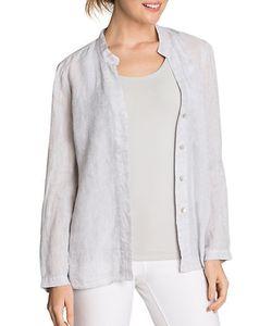 NIC+ZOE | Drifty Textured Linen Shirt