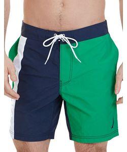 Nautica   Colorblock Swim Trunks