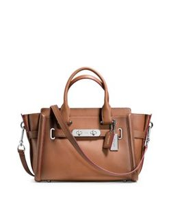 Coach | Swagger Leather Satchel