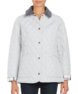 Barbour | Quilted Button-Front Coat