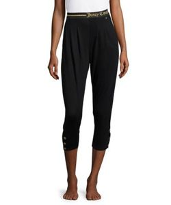 Juicy Couture | Cropped Logo Sleep Pants