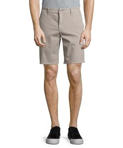 Seven for all Mankind | Stretch-Cotton Flat Front Shorts